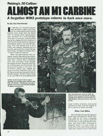 Reising 30 carbine.pdf - Forgotten Weapons