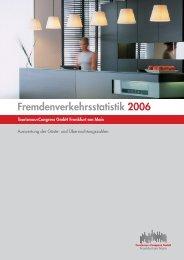 Fremdenverkehrsstatistik 2006.XLS - Tourismus und Congress GmbH