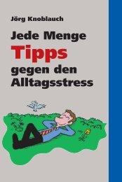 tempus jede Menge Tipps gegen Alltagstress: tempus Broschüre Tipps