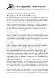 Pressemitteilung Vortrag Zhineng Qigong - Freundeskreis ...