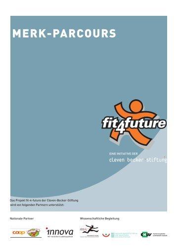 Merk-Parcours: Vorlage für ein Lösungsrätsel und ... - Fit-4-Future
