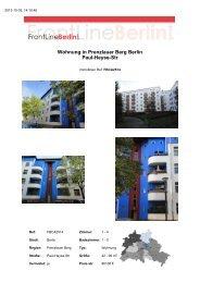 Wohnung in Prenzlauer Berg Berlin Paul-Heyse-Str - Front Line ...