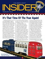 Insider March-April 2012 - G Scale News