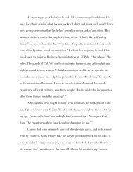 Chapter 4: Christopher Castle