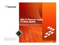 Freescale, the Freescale logo, AltiVec, C-5, CodeTEST ...