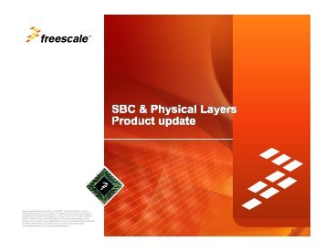 Freescale, the Freescale logo, AltiVec, C-5, CodeTEST ...