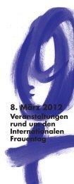 Faltblatt Internationaler Frauentag Bremerhaven 2012 - Bremische ...