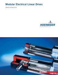 Modular Electrical Linear Drives