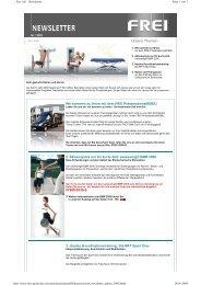 Newsletter Januar 2009 - Frei AG