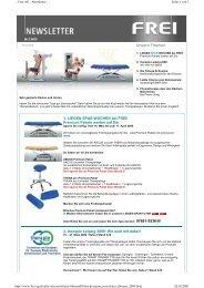 Newsletter Februar 2009 - Frei AG
