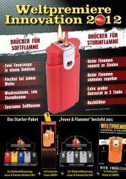 """Das Starter-Paket """"Feuer & Flamme"""" besteht aus ... - Roth + Horsch"""