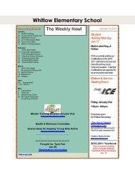Whitlow Elementary School - Forsyth County Schools