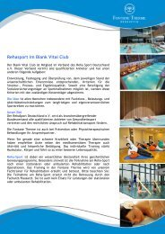 Rehasport im Blank Vital Club PDF - Fontane Therme