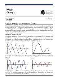 Physik I Übung 2