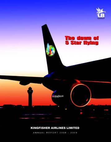 The dawn of 5 Star flying The dawn of 5 Star flying - Kingfisher Airlines
