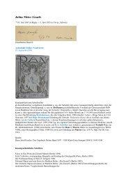 Graefe Julius Maier - Gästebücher von Schloss Neubeuern
