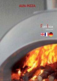Katalog Alfa Pizzaofen Inox - Gardelino