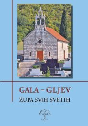 Gala – Gljev - Franjevačka provincija Presvetog Otkupitelja