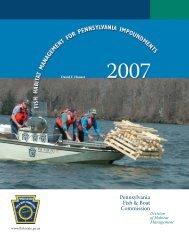 Fish Habitat Management for Pennsylvania Impoundments