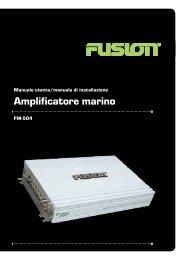 Amplificatore marino - Fusion