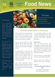 Food News - Glenorchy City Council