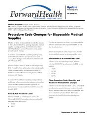 2012-03 - Procedure Code Changes for Disposable Medical Supplies