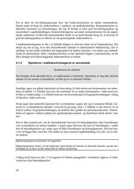 Download publikationen som PDF - Fødevarestyrelsen