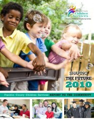 SHAPING THE FUTURE - Franklin County, Ohio