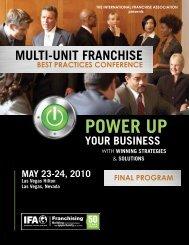Power UP - International Franchise Association