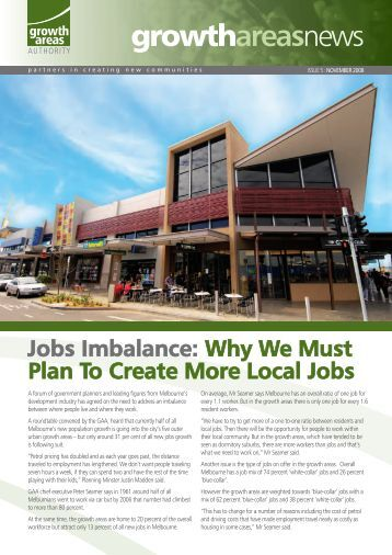 Jobs Imbalance: Why We Must Plan To Create More Local Jobs