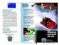 03 PWC brochure - Pennsylvania Fish and Boat Commission