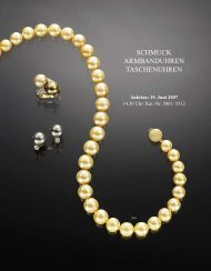 schmuck armbanduhren taschenuhren - Galerie Fischer Auktionen AG