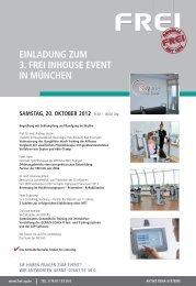 Anmeldeformular - Frei AG