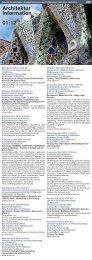 01 2012 Architektur Information - Fakultät für Architektur