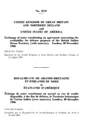 Availability for Defense Purposes of the British Indian Ocean Territory