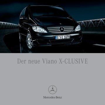 Der neue Viano X-CLUSIVE - Mercedes-Benz Niederlassung Freiburg