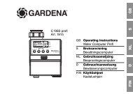 OM, Gardena, Water Computer Profi, Art 01815-28, 2007-01