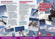 Your Next Ski & Snowboard Holiday… - UK Freestyle