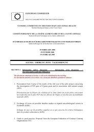 Dagsorden februar 19 biologisk sikkerhed i fodevarekaeden