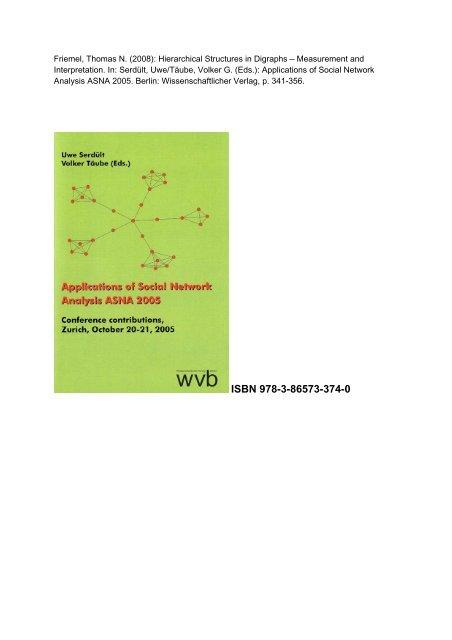 ISBN 978-3-86573-374-0 - Thomas N. Friemel