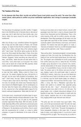 Page 1 The Freedom of the Seas Page 1 © Institute for Peace ...