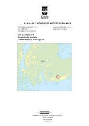 Plan- och genomförandebeskrivning - Gävle kommun