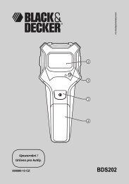 BDS202 - Service - Black & Decker