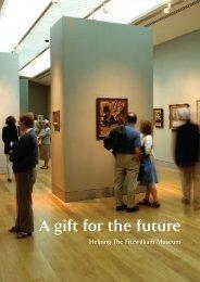 legacy brochure - The Fitzwilliam Museum - University of Cambridge