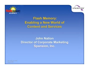 Why Security? - Flash Memory Summit