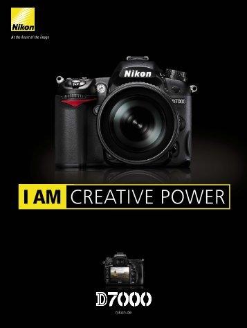 Nikon D7000 Prospekt - Foto Basler Aarau
