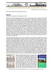 Newsletter_37 vom 10.12.2010 - Historische Eisenbahn Frankfurt