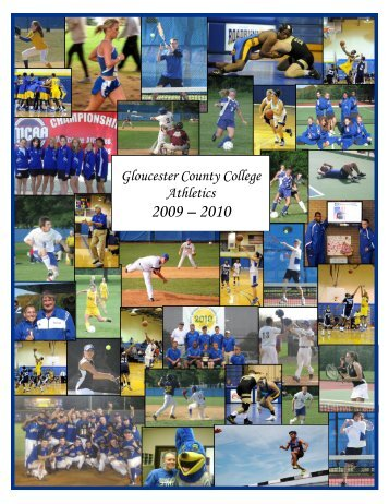 2009-10 Yearbook Available Now! - Gloucester County College