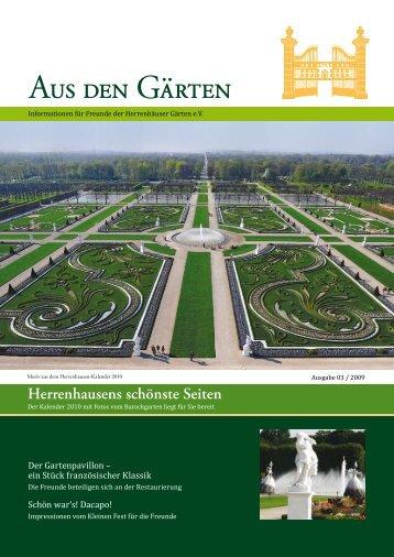 Herrenhausens schönste Seiten - Freunde der Herrenhäuser Gärten ...