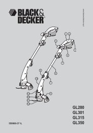 GL280 GL301 GL315 GL350 - Service